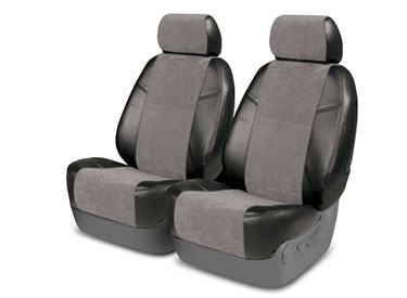 Custom Seat Covers Alcantara for 2014 Chevrolet Silverado 1500, 2500 (not HD)