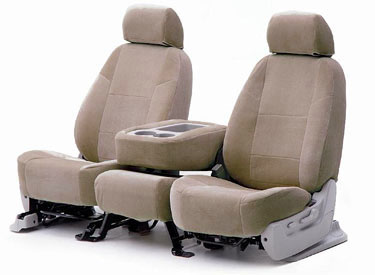 Custom Seat Covers Suede for 1993 Toyota Corolla Sedan