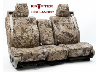 Custom Seat Covers Kryptek Camo for 2005 Honda Civic Coupe
