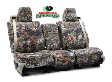 Custom Seat Covers Mossy Oak Neosupreme for 1998 Saturn SL-Series Sedan