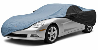 Custom Car Cover Stormproof for 1988 Chevrolet Monte Carlo SPORT COUPE, LANDAU, LS, w/o hood ornament pocket, antenna hole not provided