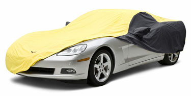 Custom Car Cover Satin Stretch for  Panoz