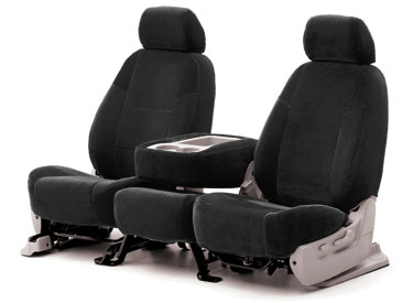 Custom Seat Covers Velour for 2010 Honda Civic Coupe
