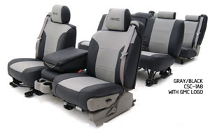 Custom Seat Covers Premium Leatherette for 2002 GMC Yukon XL