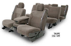 Custom Seat Covers Velour for 2007 Hyundai Santa Fe