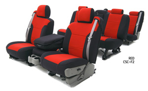 Custom Seat Covers Neoprene for 2011 Ford Fiesta