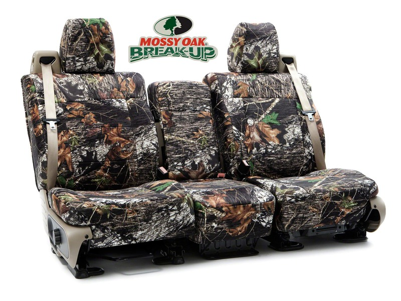 Custom Seat Covers Mossy Oak Camo for 1997 Ford F-150/250/350 (NOT Super Duty)