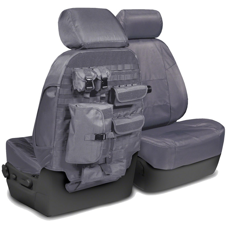Custom Tactical Seat Covers for 2014 Chevrolet Silverado 1500, 2500 (not HD)
